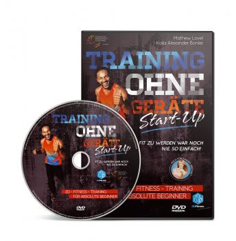 Training ohne Geräte: Start-Up (3D-Fitness-Training für absolute Beginner) [DVD]